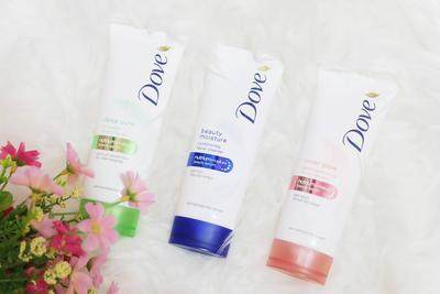 Dove Beauty Moisture Face Wash with Nutrium Moisture
