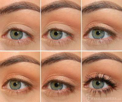 Pilihlah Warna Eyeshadow yang Tepat
