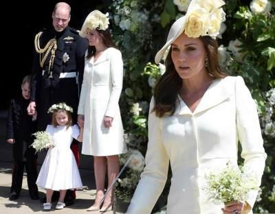 4 Fakta Menarik Seputar Busana Kate Middleton di Royal Wedding Pangeran Harry dan Meghan Markle