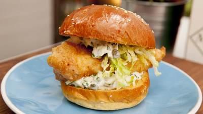 2. Burger Ikan