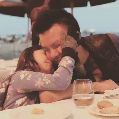 Romantis, Ini Momen Kebersamaan Anak Penyanyi Denada Shakira dan Sang Ayah Jerry Aurum