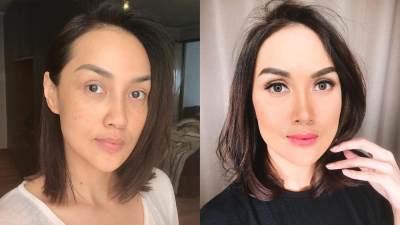5 Artis Indonesia Ini Berani Pamer Wajah Tanpa Makeup, Bikin Pangling Nggak Nih Moms?