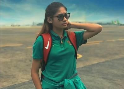 Asian Games 2018: Zahra Muzdalifah, Atlet Sepakbola Wanita Indonesia yang Imut!