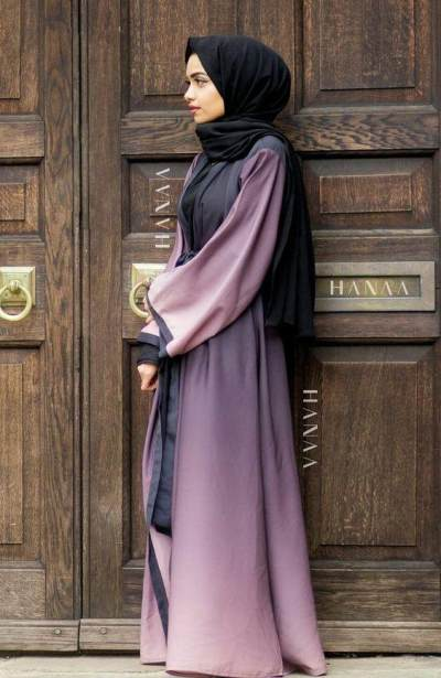 Hijab Dress dari Silk/Sutra