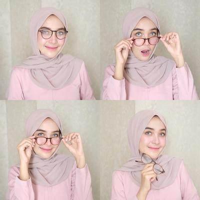 Ini Tren Hijab Pashmina Tanpa Pentul yang Sedang Populer di Kalangan Para Hijabers