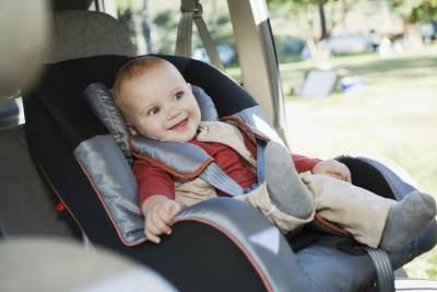 1. Baby Safety di dalam Mobil