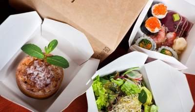 6. Bungkus Separuh Makanan