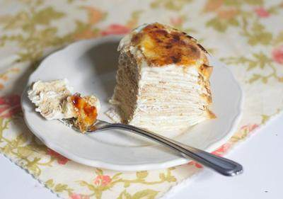 Creme BruleeCrepe Cake