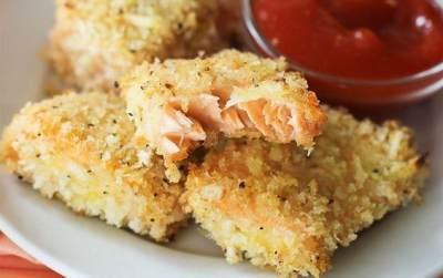 Lezat dan Bergizi, Resep Nugget Isi Salmon Keju Ini Wajib Kamu Coba