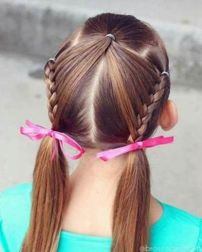 Manisnya, Ini Dia Berbagai Inspirasi Gaya Rambut Kepang untuk Anak Perempuan