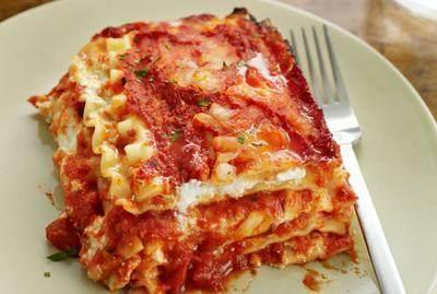 Basic Lasagna