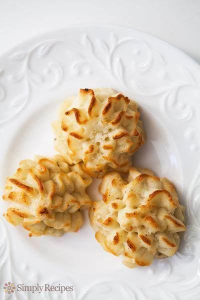 Baked Mashed Potato Swirl