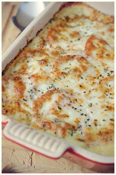 Mozarella Mash Pie