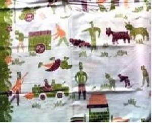 6. Batik Pangan atau Batik Petani