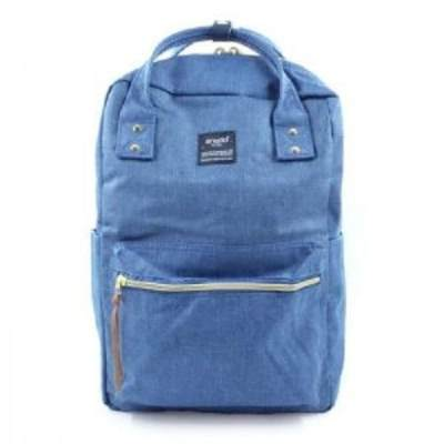 5. Anello Square Denim Diaper Bag