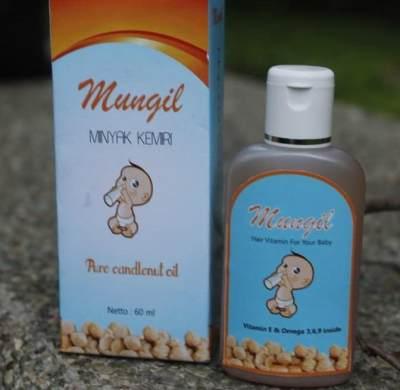 Minyak Rambut Bayi Mungil Minyak Kemiri