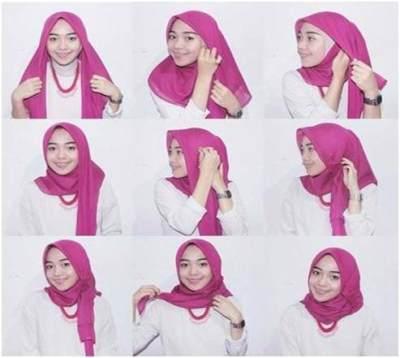 Tutorial Hijab Kasual