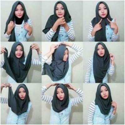 Tutorial Hijab Elegan