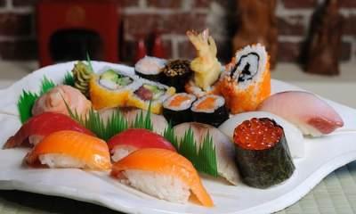 Makanan Jepang Sushi