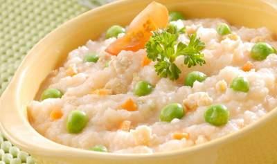 Nasi Tim Pelangi ( Resep Makanan Pendampin ASI Usia 8 Bulan)