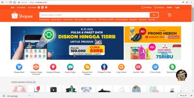 3. Toko Online Terpercaya di Shopee