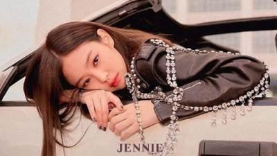 "Single ""Solo"" Jennie Black Pink"