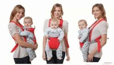 Gendongan Bayi Depan