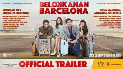"""Film Terbaru September 2018 Kemarin, Ada """"Belok Kanan Barcelona"""""""