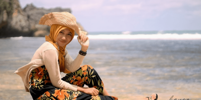 3 . Outfit Hijab Casual