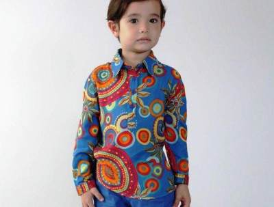 2. Baju Batik Anak Laki-laki