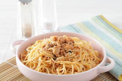 Resep Spaghetti Goreng Ayam
