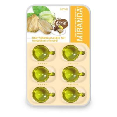 4. Miranda Hair Vitamin With Kukui Nut