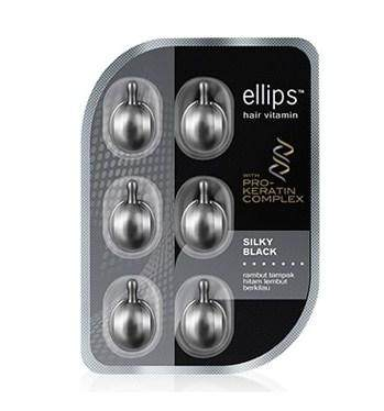5. Ellips Hair Vitamin Silky Black