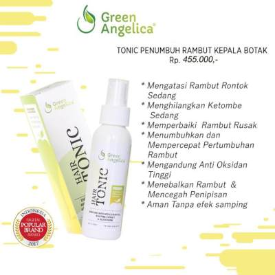 11. Green Angelica Hair Tonic
