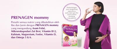 Moms, Prenagen Mommy Bisa Bantu Bayi Cerdas Lho! Yuk, Cari Tahu Kandungannya