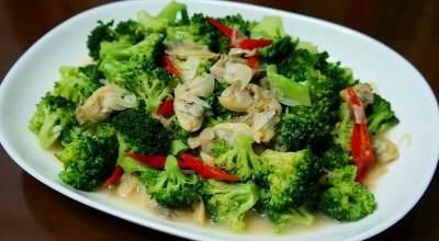 Cah Brokoli Goreng Telur