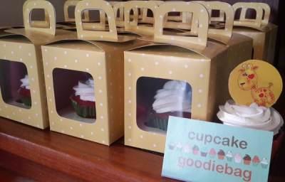 Cupcake Lucu untuk Ulang Tahun