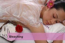 Bleaching Badan di Salon