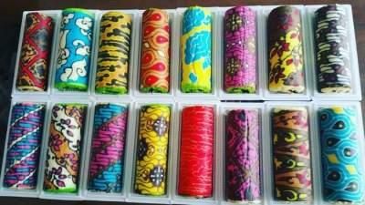 Bolu Kukus Gulung Batik