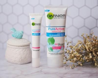 Garnier Pure Active untuk Kulit Sensitif