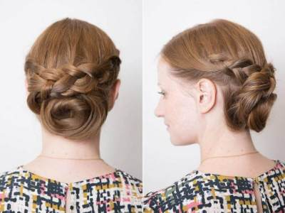 Kepang Rambut Modern