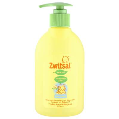 Zwitsal Natural Baby Bath 2 in 1 Hair & Body