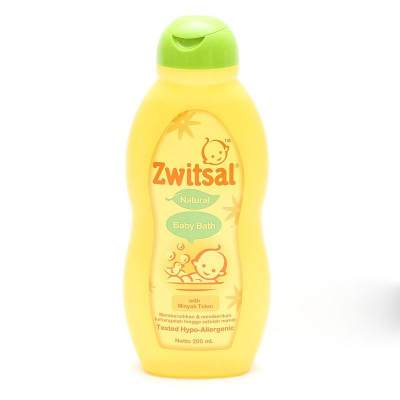 Zwitsal Natural Baby Bath Minyak Telon