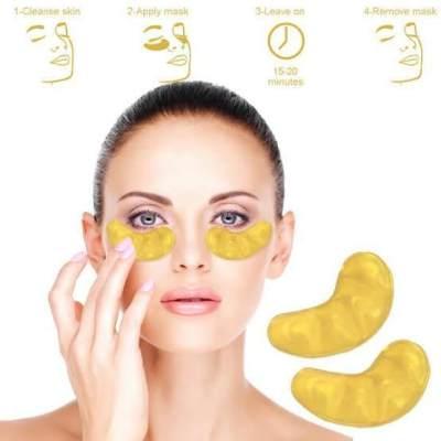 Cara Pakai Masker Mata Collagen Gold Crystal