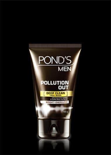 Pond's Men Pollution Out