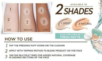 Maybelline Cushion shade
