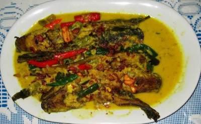 Ikan Lele Goreng Bumbu Kuning