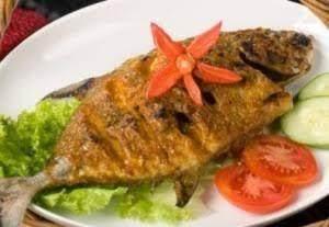 Ikan Nila Bakar Bumbu Kuning