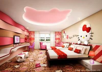 Tempat Tidur Karakter Hello Kitty