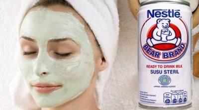 Masker Susu Bear Brand